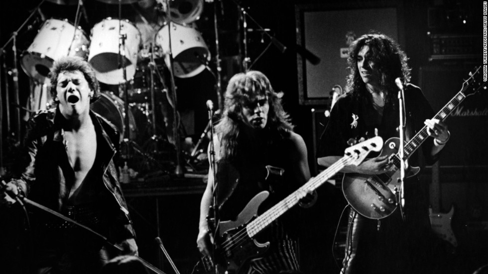 "Formed in the late '70s, Iron Maiden made its debut in 1980 with a self-titled record. Two years later, the Brit band released its now classic third album, ""The Number of the Beast."""