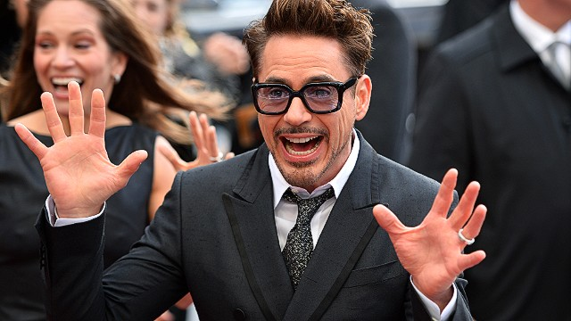 "Robert Downey Jr. attends the 2013 ""Iron Man 3"" premiere."