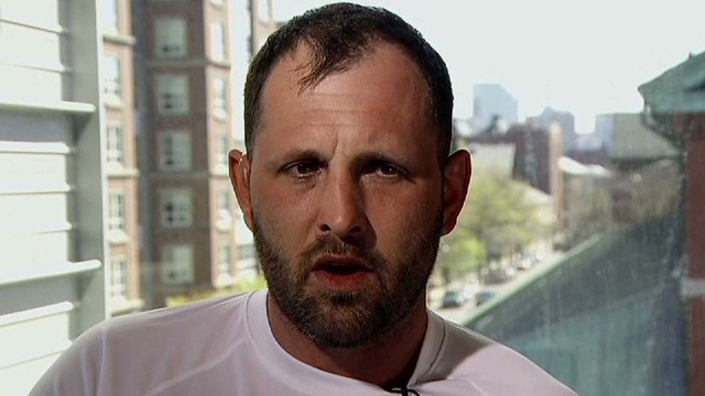 Boston bomb survivor: I am blessed
