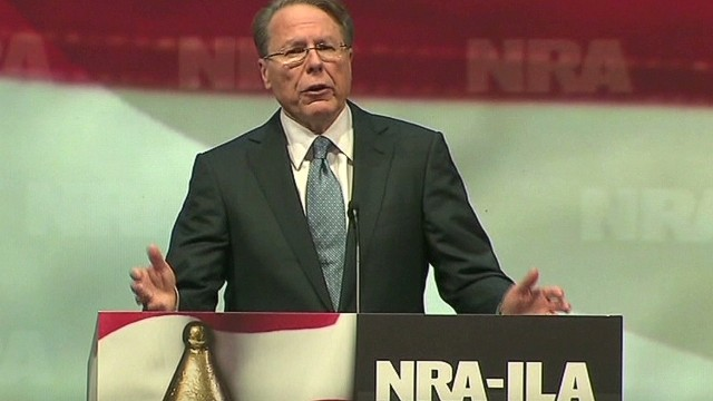 NRA's CEO slams Piers Morgan
