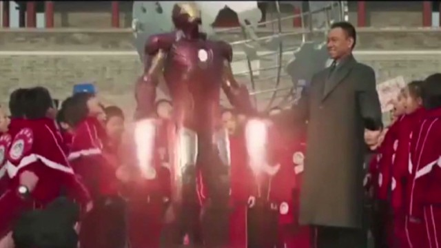 'Iron Man 3' created with China in mind