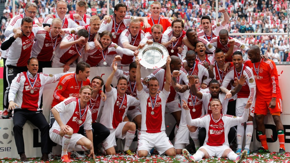 Dutch club Ajax clinched a third successive Eredivisie title after beating relegated Willem II in the penultimate match of this season. It was the Amsterdam side's 32nd overall.