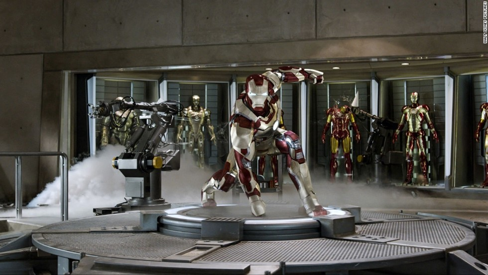 "Box Office Mojo reports that ""Iron Man 3"" has puled in more than $400 million."
