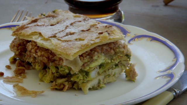 Moroccan Pastilla. From episcde 5 of Anthony Bourdain Parts Unknown (Tangier).