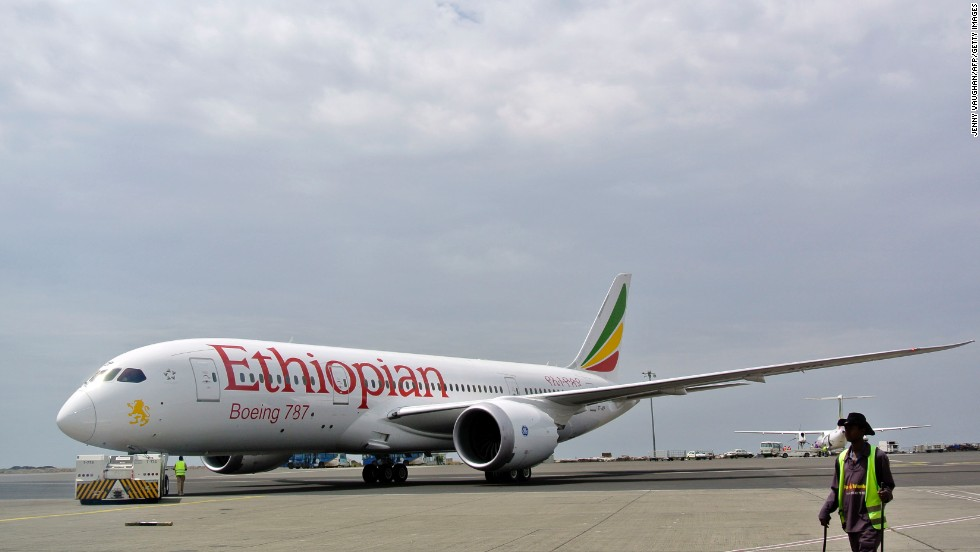 This Ethiopian Airlines Dreamliner was the first to resume commercial services on April 27, 2013, after the global grounding of the 787.