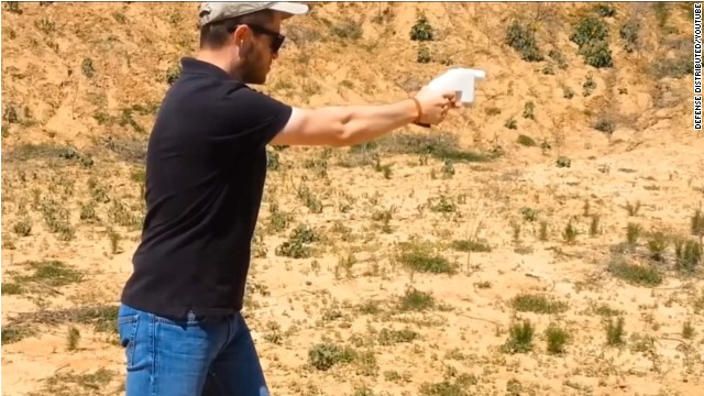 3-D printer makes working gun