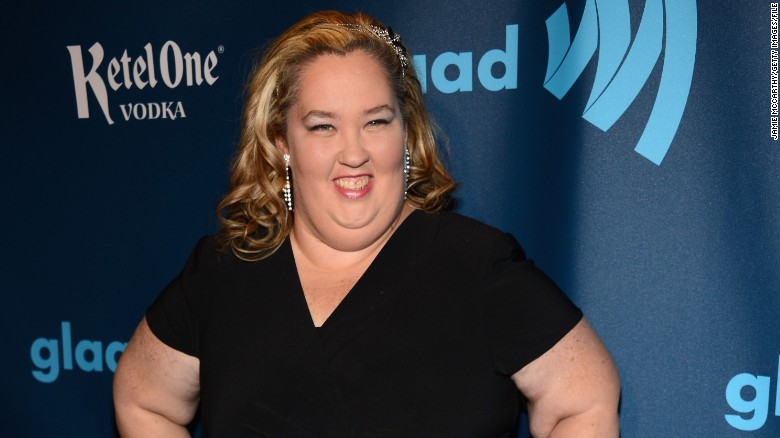 Mama June hits the red carpet (2013)