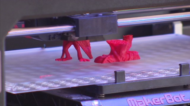 CNN Explains: 3-D printing
