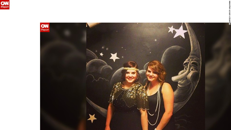 "Krysti Kalkman, left, invited about 40 people to her 1920s-inspired birthday party. ""The guest list is very important,"" she said. ""I invited anyone who I thought would have a blast and who is intriguing."""