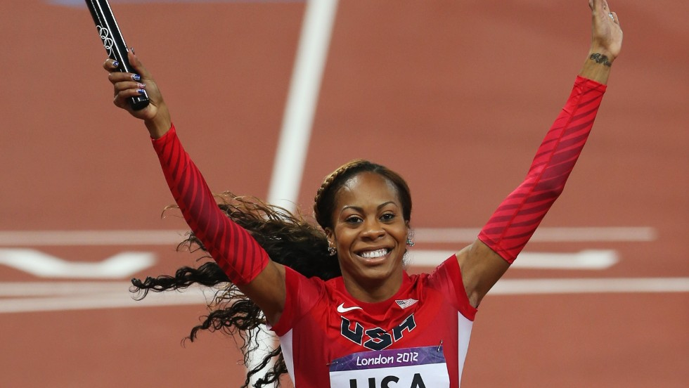 After winning gold at the 2012 Olympic Games in London, Sanya Richards-Ross will give the commencement address at her alma mater, the University of Texas, in May.