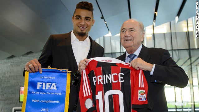 Sepp Blatter created FIFA's Task Force shortly after Kevin-Prince Boateng led Milan off the pitch in protest at racist abuse.