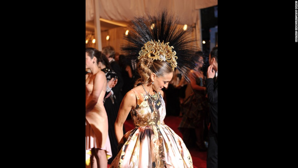 Sarah Jessica Parker attends the gala.