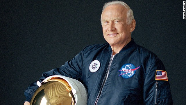 Buzz Aldrin Himself! PC: CNN