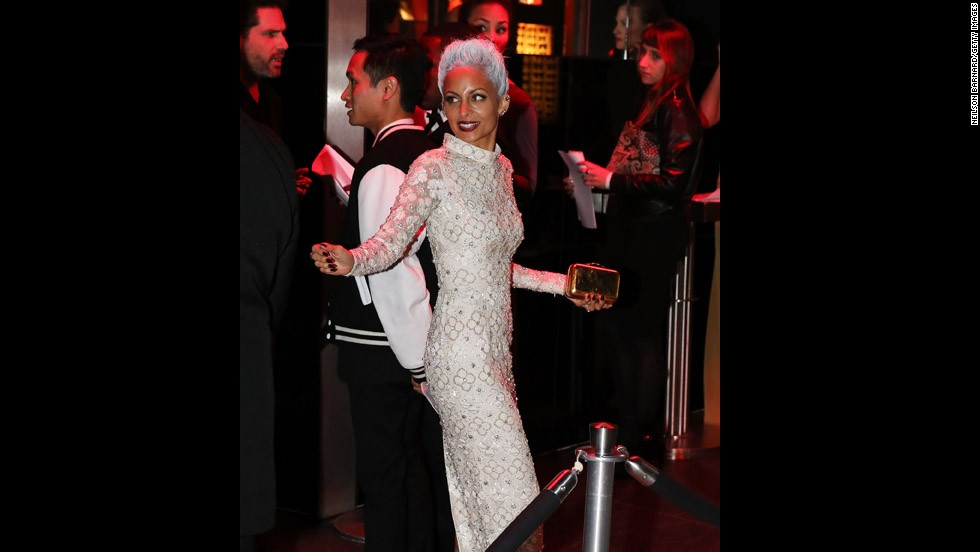 Nicole Richie attends the gala after-party.