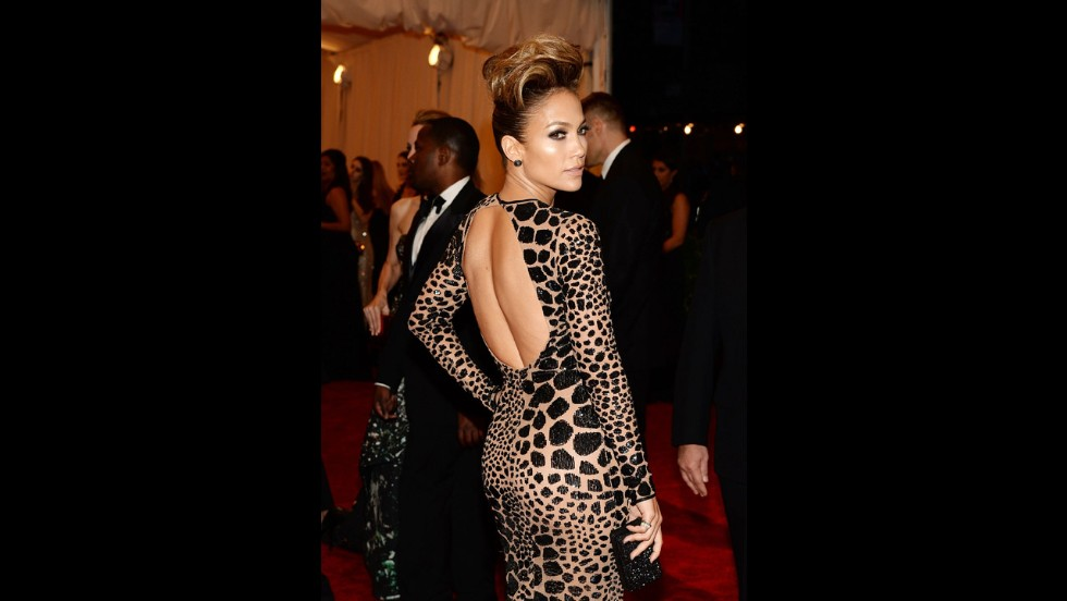 Jennifer Lopez attends the gala.