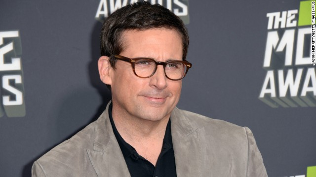 "Former ""The Office"" star Steve Carell attends the MTV Movie Awards in April 2013."