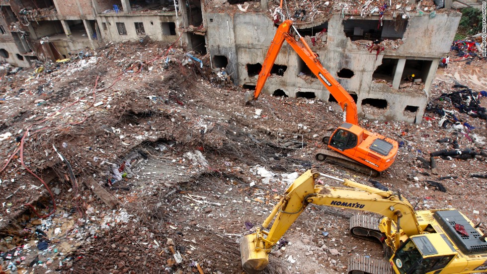 Bangladesh building collapse recovery efforts end, toll at 1,127 ...