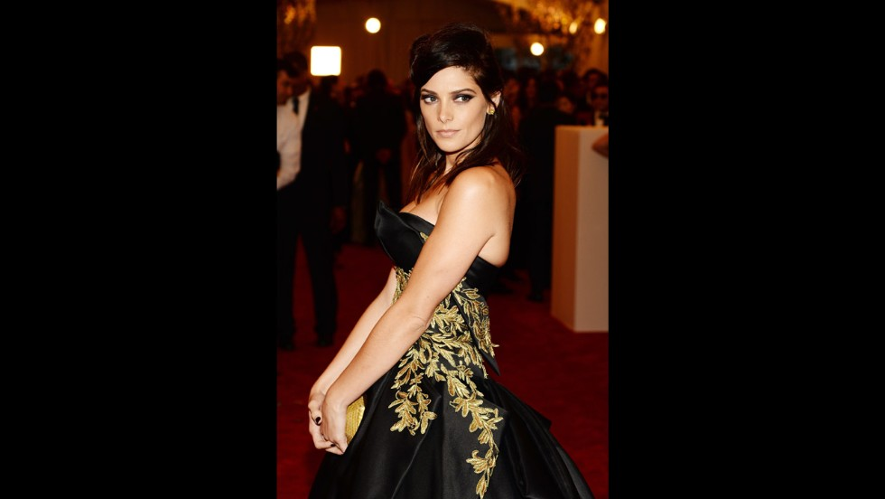 Ashley Greene attends the gala.