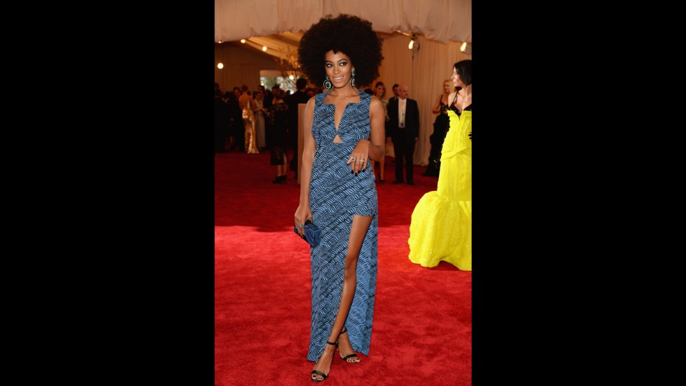 Solange Knowles attends the gala.