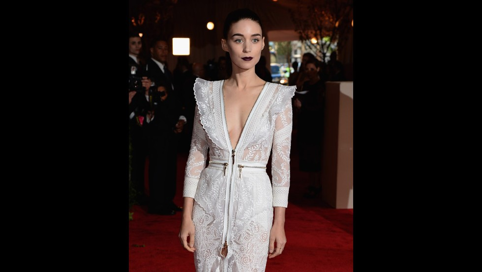 Rooney Mara attends the gala.