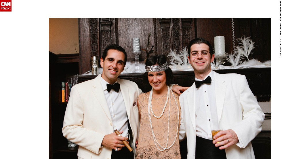 "On the other hand, wealth manager Russell Bailyn, right, spared no expense for his ""Great Gatsby""-themed 30th <a href=""http://ireport.cnn.com/docs/DOC-968761"">birthday party</a>. His top tip for hosting a successful bash? ""Giant bottles of champagne and lobster are a good start."""