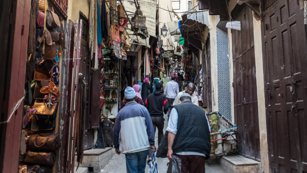 "The narrow streets of Morocco's souks are filled with hagglers, hustlers, mule-drivers and motor scooters. Shouts of ""Balak!"" mean watch out."