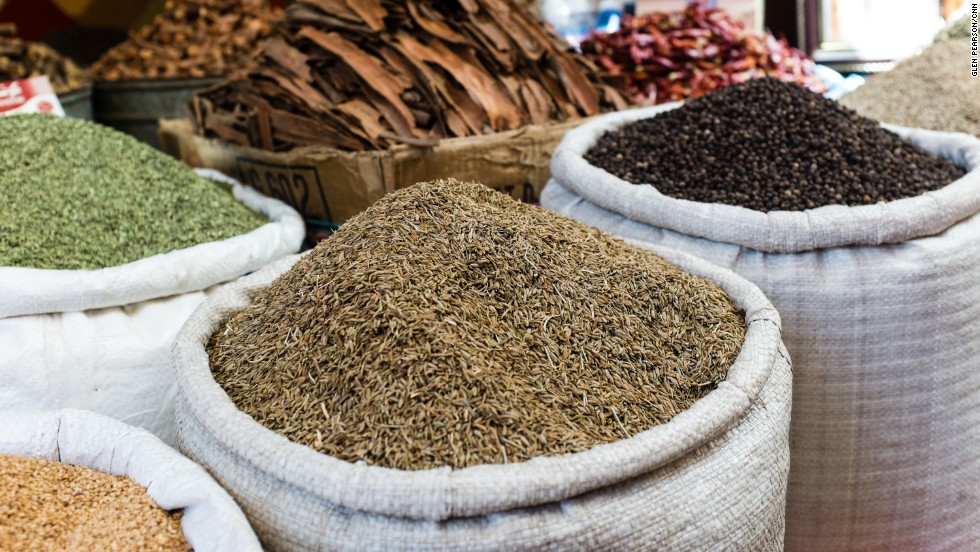 Cumin is one of the main spices used to flavor pretty much everything in Moroccan cooking. It's also a popular natural remedy for upset stomachs.