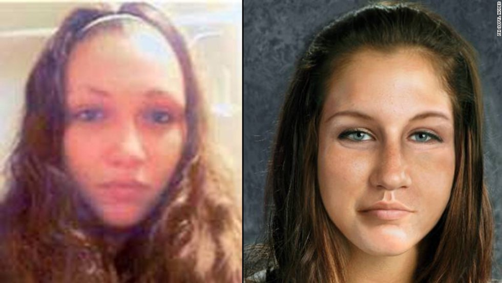 "The <a href=""http://www.cnn.com/2013/05/07/justice/cleveland-missing-women-latest-developments"">discovery of the three young women</a> missing for a decade in Cleveland immediately raised hopes for Ashley Summers, who went missing in July 2007 at age 14 within blocks of the other three.  Here, she is shown next to an age-progressed rendering of her on the right."