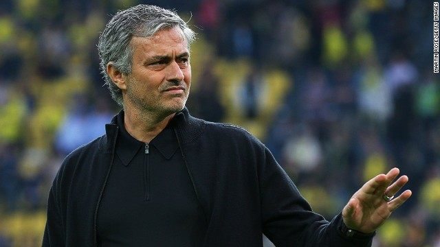 Jose Mourinho is widely expected to leave Real Madrid for English club Chelsea at the end of season