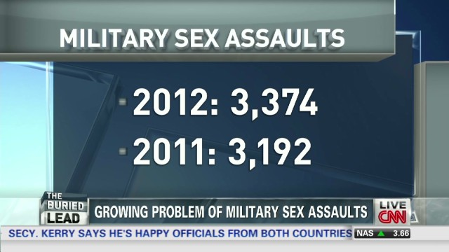 Sexual assaults in the military increase