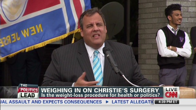 Weighing in on Christie's surgery