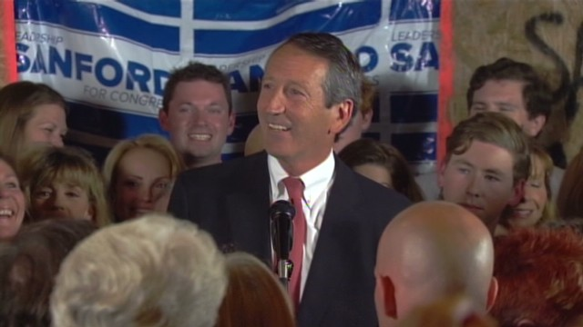 Mark Sanford wins comeback race