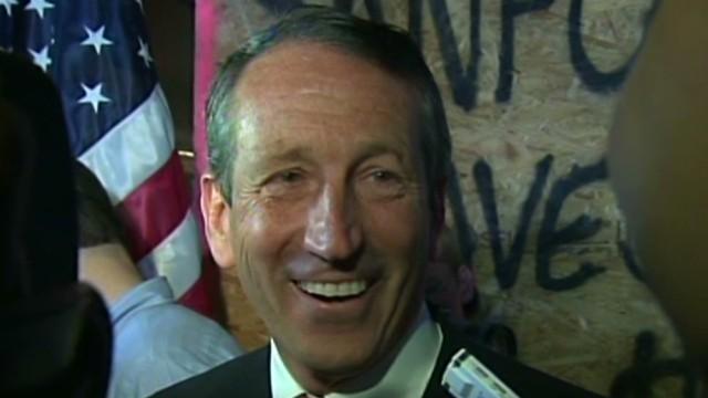 Sanford's stunning political comeback
