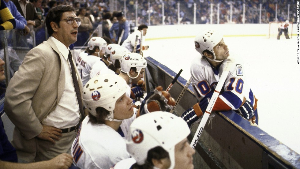 Al Arbour coached the New York Islanders for 20 years, with a year-long stint as vice president of player development for the team in 1987.