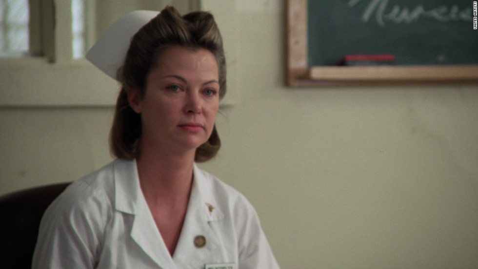 "Louise Fletcher won the best actress Oscar for her role as Nurse Ratched in 1975's ""One Flew Over the Cuckoo's Nest."""