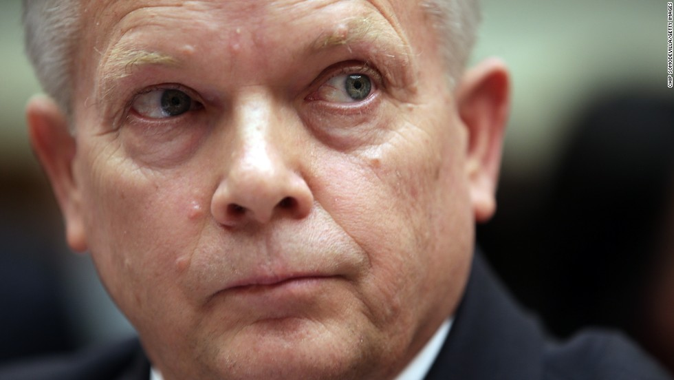 Thompson testifies on May 8. He is the State Department's acting deputy assistant secretary for counterterrorism.
