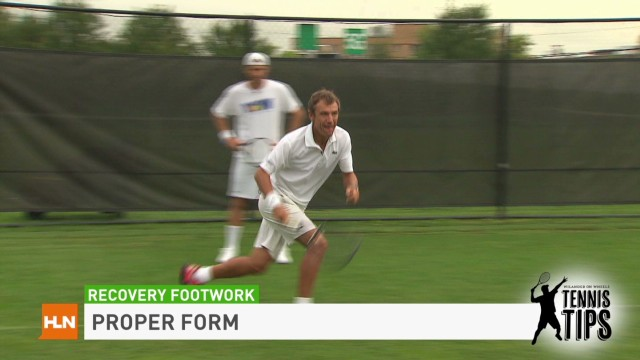 Tennis Tips: Recovery footwork