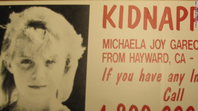 This poster was distributed in 2009 around Hayward, California. Michaela Garecht went missing in 1988.