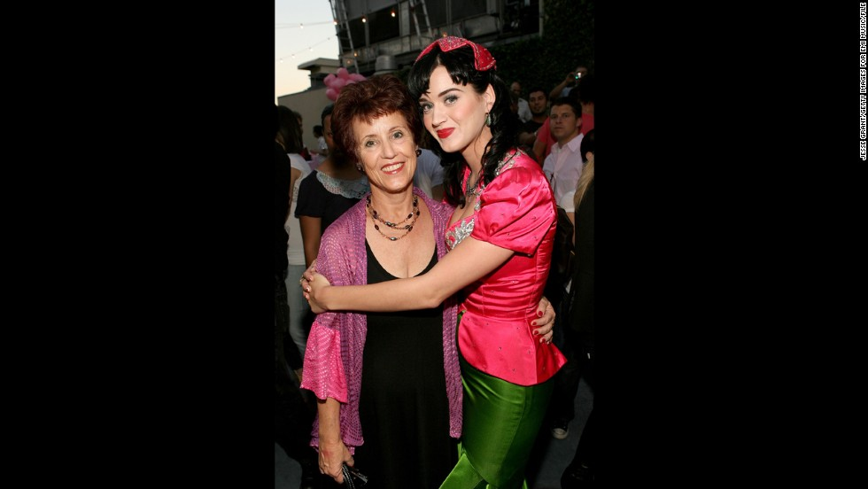 Katy Perry's mother, Mary Hudson.