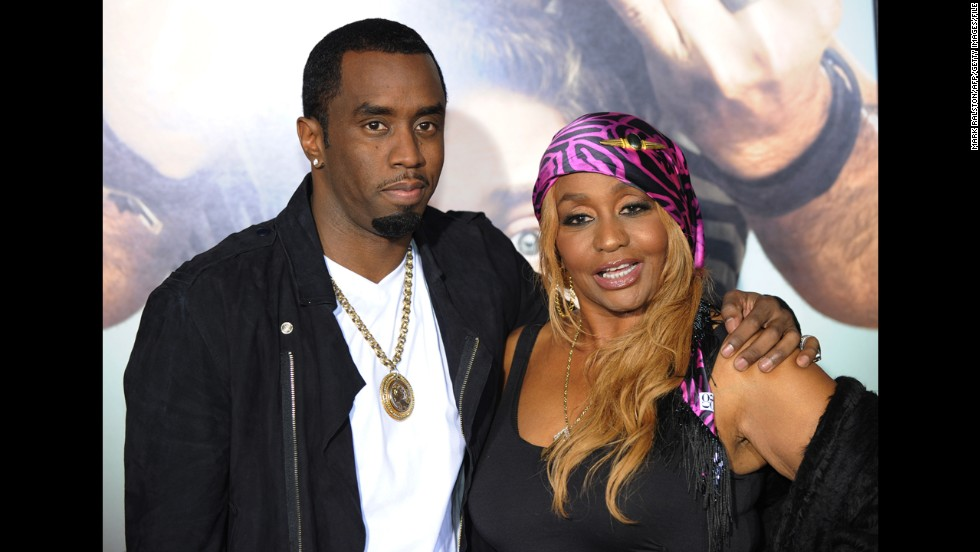 "Sean ""Diddy"" Combs' mother, Janice."