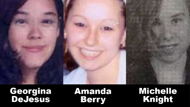 gine dejsus, amanda berry, michelle knight