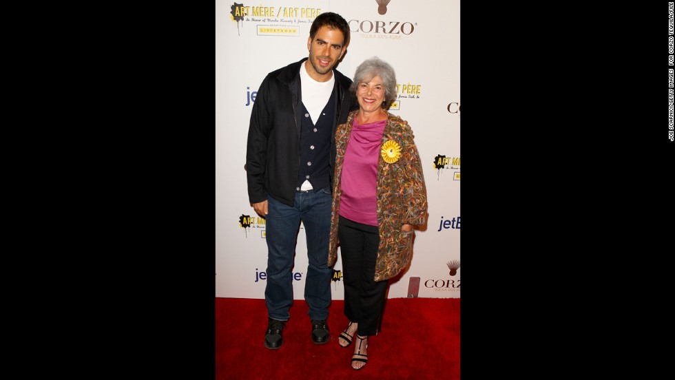 Eli Roth's mother, Cora Roth.