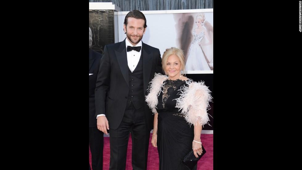 Bradley Cooper's mom, Gloria Cooper.