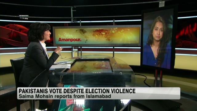 Pakistanis to vote despite violence