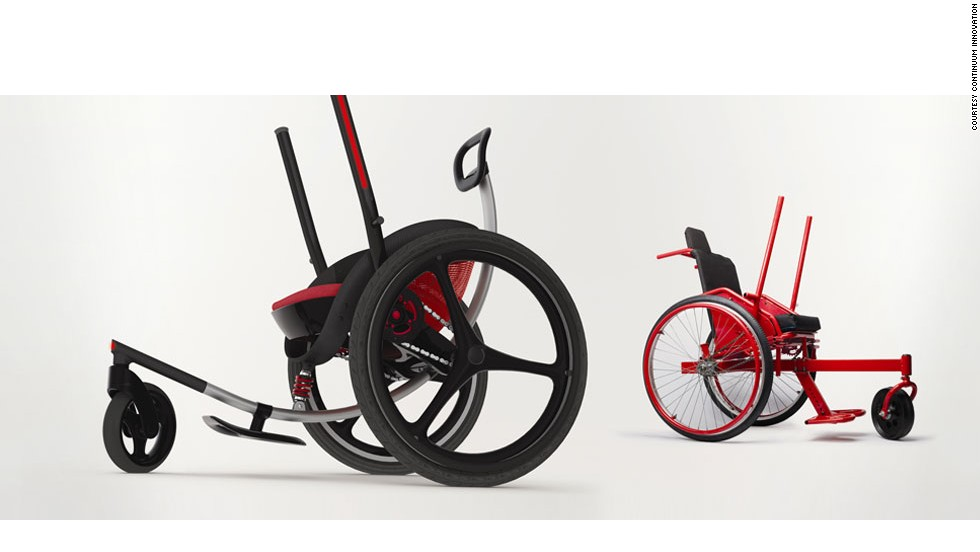 Leveraged Freedom Chair revolution, in the shape of a wheelchair - cnn