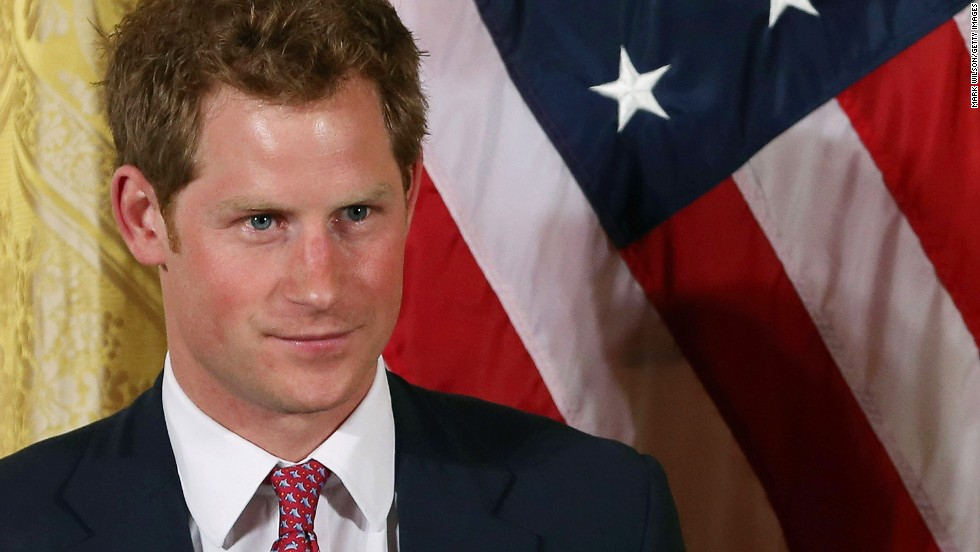 Prince Harry visits the White House on Thursday, May 9.