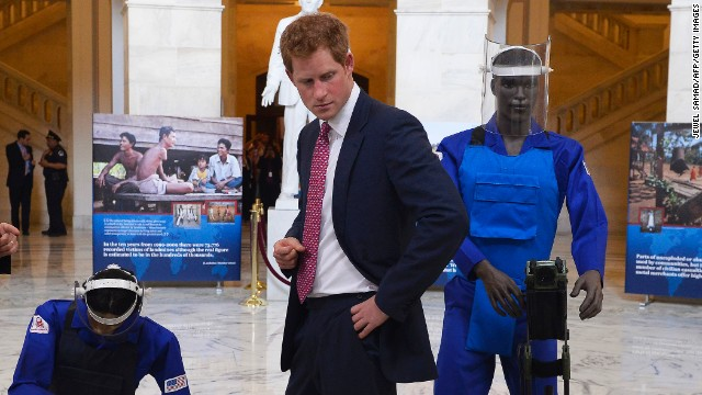Prince Harry continues Diana's legacy