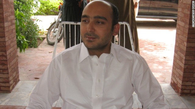 Ali Haider Gilani, the son of a former Pakistani leader, appears shortly before his 2013 kidnapping.
