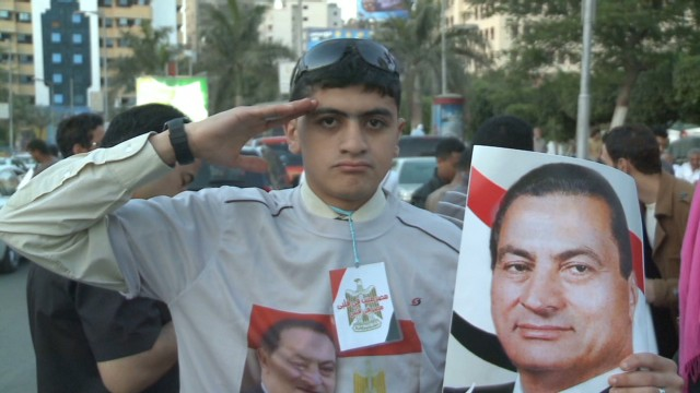 Mubarak supporters call for his return