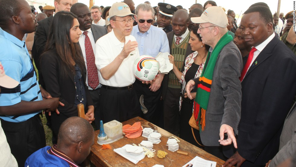 For its efforts, it has attracted the interest of several high profile athletes and dignitaries, including secretary general of the United Nations Ban Ki Moon and president of the International Olympic Committee Jacques Rogge.